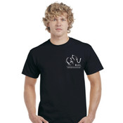 Men's Elephant Design - Black
